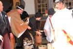 挙式前の手水の儀